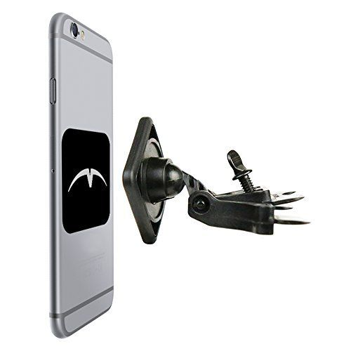 Mountek nGroove Magnetic CD Slot Car Mount Universal - Firmly and safely mounts cell phones, GPS units, satellite radios, MP3 players, mini tablets and other high-tech devices, including iPhone 4/5/5C/5S, iPad Mini, Samsung Galaxy S Series, Note, HTC, Motorola, Google Nexus, Nokia Lumia Comes already assembled and ready to use with a strong, sturdy grip thanks to rubber-reinforced insertion blade. Super-tight but simple blade system involves just a thumbscrew and tightening w