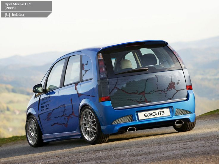 Opel Meriva OPC #7