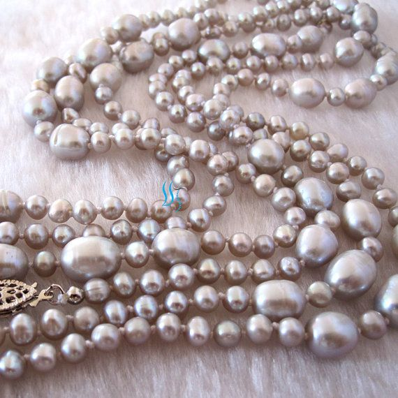 Pearl-necklace-60-inches-40-90mm-silver