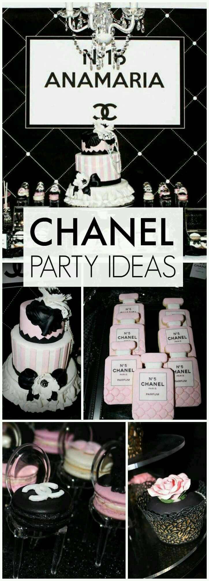 Decoracion en Chanel