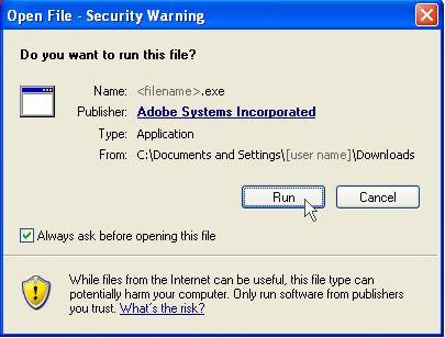 Adobe - Install Adobe Reader