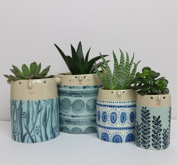 Your Place To Buy And Sell All Things Handmade Painted Plant Pots Pottery Painting Designs Painted Pots Diy
