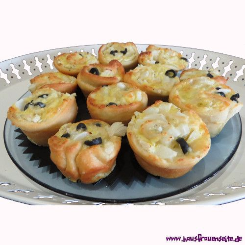 Pizza-Schnecken-Muffins