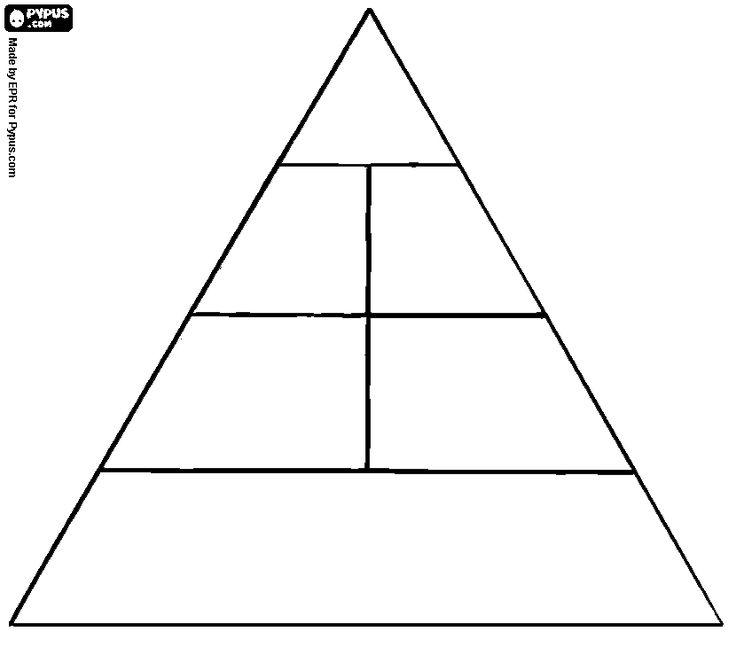Las 25 mejores ideas sobre pir mide alimenticia de los ni os en pinterest pir mide de - Piramide alimenticia para ninos para colorear ...