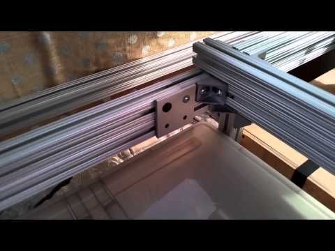 Campervan Rock n Roll Bed with Easy Lift Feature - VW T4 & VW T5 - YouTube