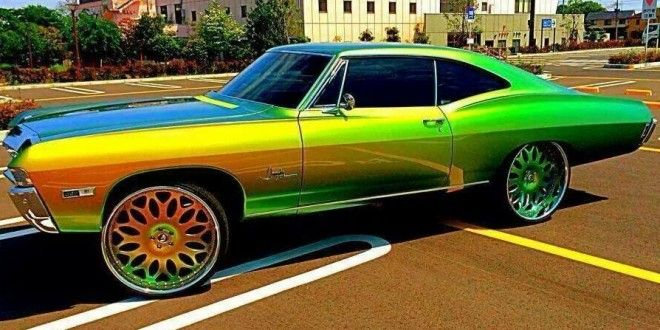 """Chevy Impala on 26"""" Forgiato's Staight out of Japan - Big Rims - Custom Wheels"""