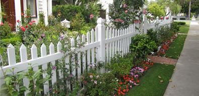 Country Landscape Design How to create a yard that will complement a farmhouse, Victorian, ranch or rustic home