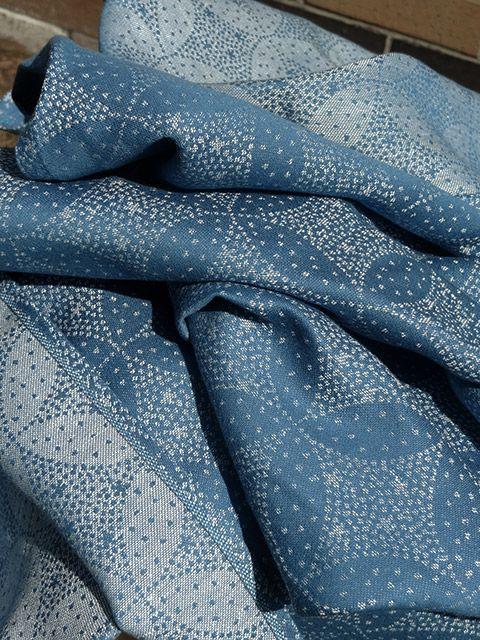 Oscha Starry Night Shona.  50/50 hemp/cotton.
