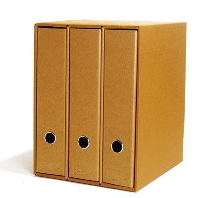 Mantén organizada tu oficina con estos 3 archivadores de Schwartz que se guardan en su propia caja.
