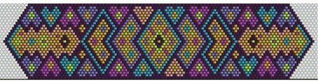 -Персидский ковер- | biser.info - всё о бисере и бисерном творчестве