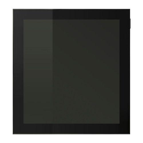 GLASSVIK Porta de vidro IKEA O comando funciona através do vidro, para que possa controlar os aparelhos eletrónicos com a porta fechada.