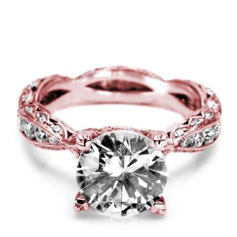 7 Stunning Rose Gold Engagement Rings... | All Women Stalk