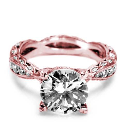 Tacori Rose Gold Twist Ring… I think this is the most beautiful ring I've ever seen!!!