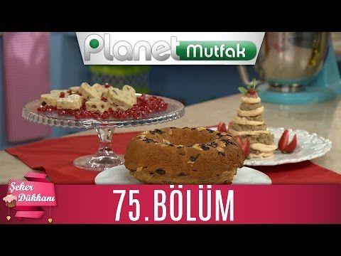 Kugelhoph (Bademli ve Üzümlü Kek) & Beyaz Çikolatalı Kuru Yemişli Bar | Şeker Dükkanı 75. Bölüm - YouTube