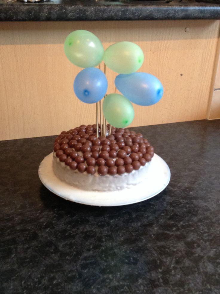 Little bros birthday cake I made :)