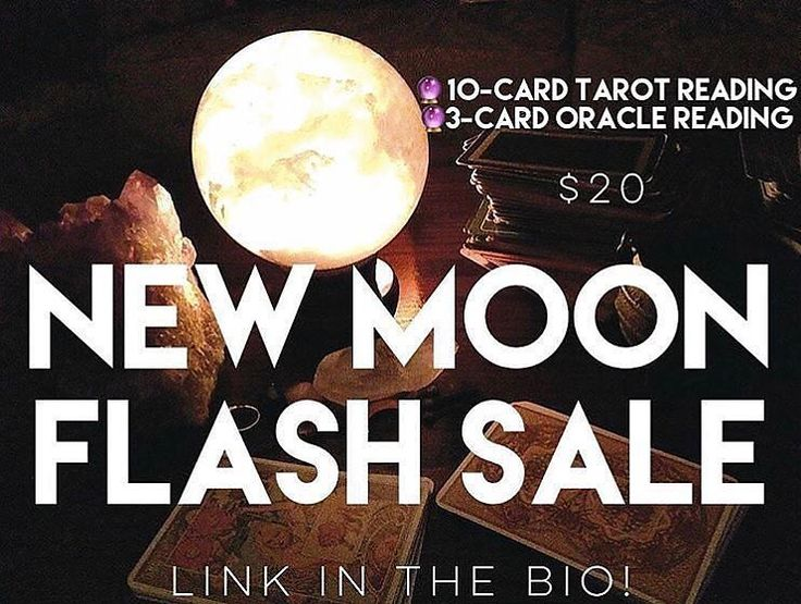 NEW MOON FLASH SALE!  TODAY ONLY  The New Moon enters devoted Virgo today  clearing the way for beautiful fresh starts! This fertile New Moon is a powerful time to shed limiting beliefs and plant seeds for new beginnings particularly around finding our purpose and reaching our goals through practical routines. What seeds should you plant during this cycle?  And what needs weeding out in your life? This combination 10-card Tarot reading and 3-card oracle card reading will offer you a clearer…