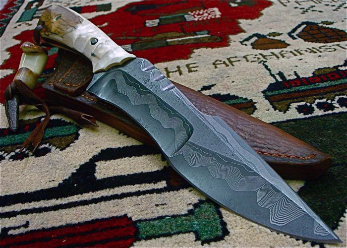 Mick Strider Damascus / Knife Pics