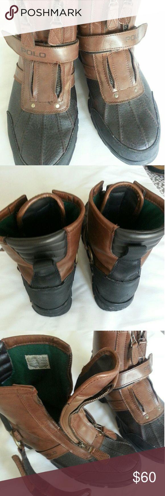 Men size 10 polo boots Polo boots polo Shoes Boots