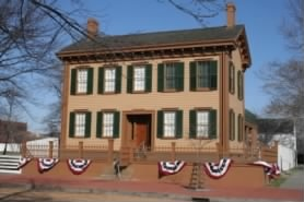 Abraham Lincoln's House - Springfield, Illinois