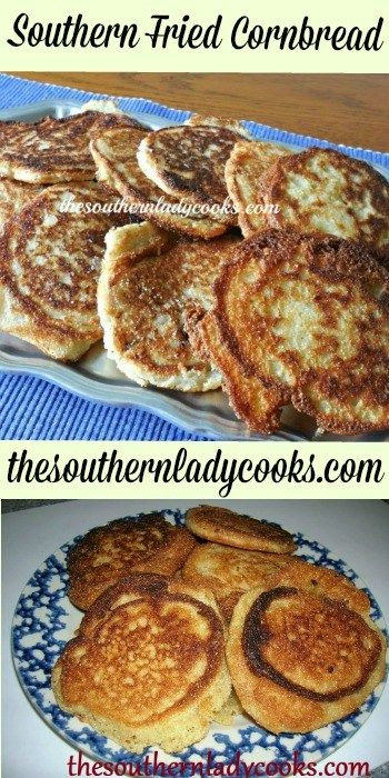 Southern Fried Cornbread