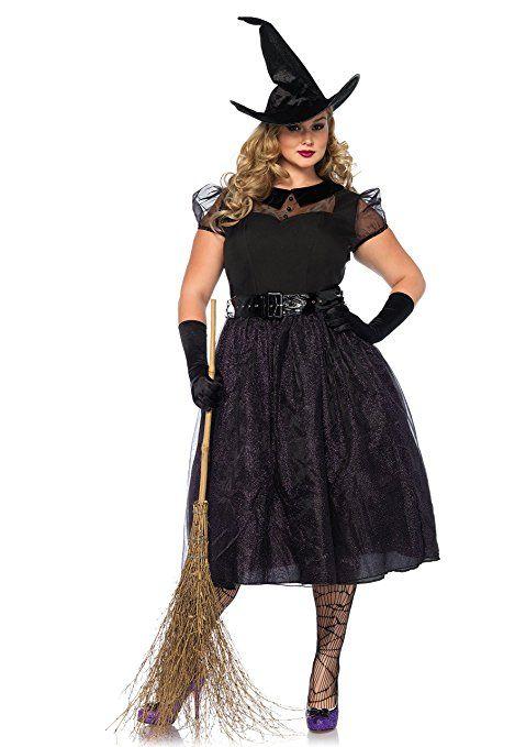 Leg Avenue Damen Kostum Darling Spellcaster Hexe Schwarz Xl Xxl