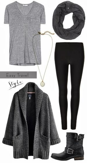 birdie to be: Easy Travel outfit by georgina