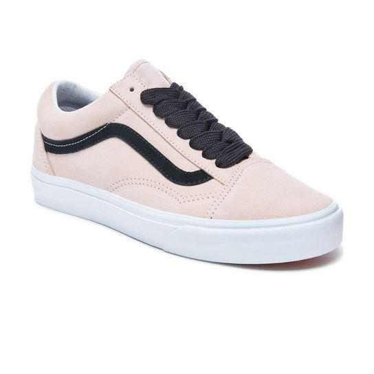 Oversized Lace Old Skool Schoenen | Roze | Vans | Vans old