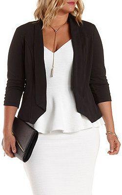25+ best ideas about Plus Size Blazer on Pinterest   Plus size ...
