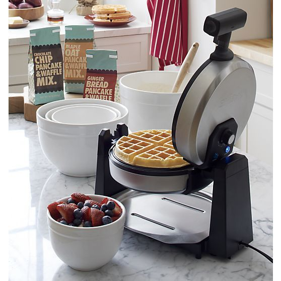 Waring ® Belgian Waffle Maker in Specialty Appliances | Crate and Barrel
