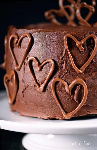 Celebration Chocolate Cake Recipe {and some news!}