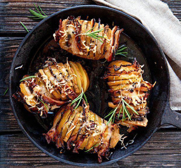 Propečené brambory se slaninou 1, Foto: Silvie Kolevová / Jídlo jako vášeň