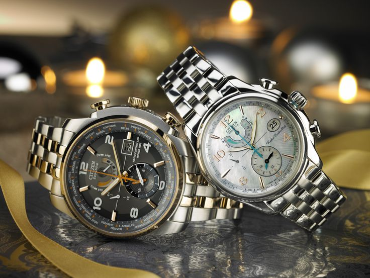 The World Time A-T - perfect for him or her!