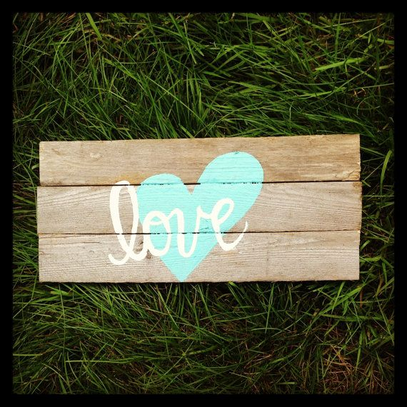 Custom Reclaimed Beach Wooden Rustic  Love Wedding Wood Sign-Beach Wedding Sign-Rustic Wedding Sign-Love Wood Sign-Wedding Signage-Wooden via Etsy
