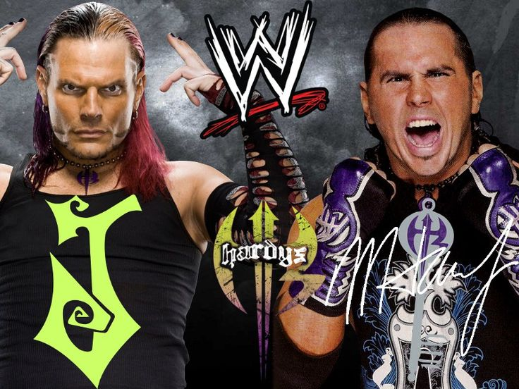 The Hardy Boyz (Jeff Hardy y Matt Hardy) / Wallpaper by: deviantfafnir - deviantart.com