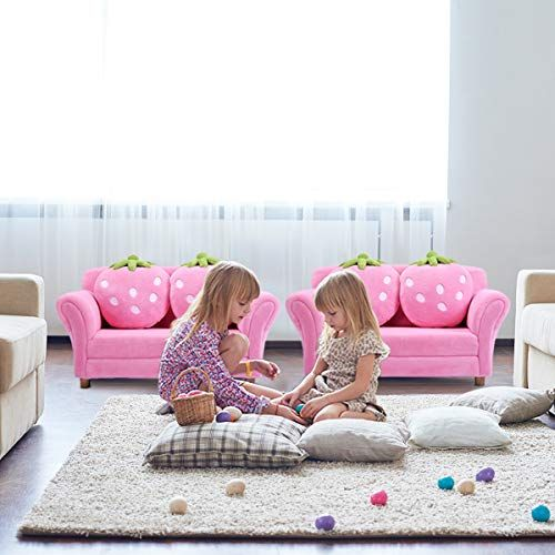 Upholstery Chair \u2013 Costzon Children Sofa, Kids Couch Armrest Chair