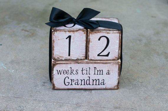 Cute way to tell the Grandparents