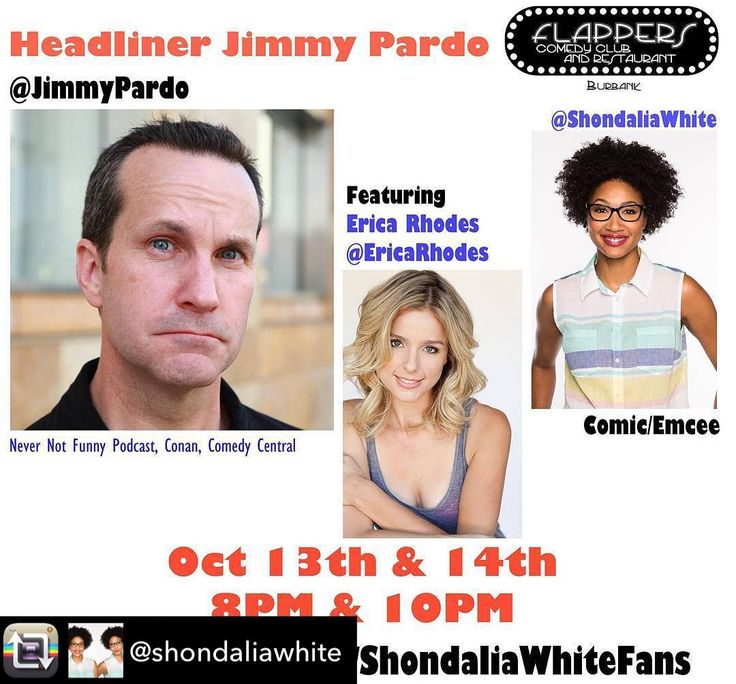 Jimmy Pardo tonight with the amazing @shondaliawhite and @ericarhodes! Tix at FlappersComedy.com  #standupcomedy #standup #comedy #nevernotfunny #nevernotfunnyfans #comedycentral #conan #jimmypardo
