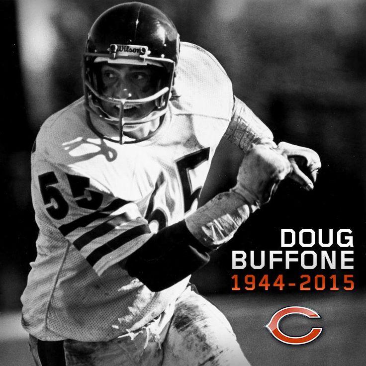 reebok nfl vintage nfc 1966 chicago bears dick butkus 51 blue jersey xl new doug buffone · chicago