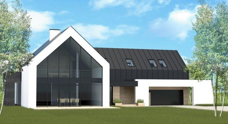 Pensjonat - Pracownia architektoniczna - architekt Limanowa, projekty domów