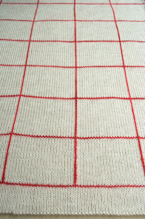 Whit S Knits Lines Squares Baby Blanket Purl Soho