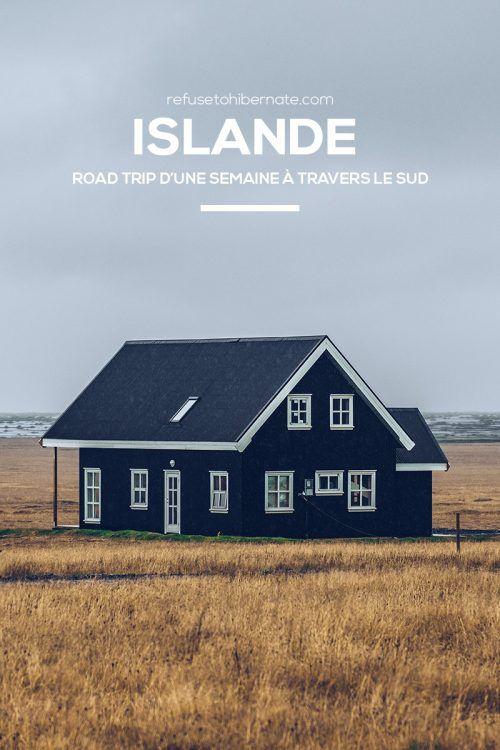 Itinéraire de 7 jours en Islande. Que voir dans le Sud de l'Islande ? Où dormir en Islande ? Où et quoi manger en Islande ? 7 days in Iceland!