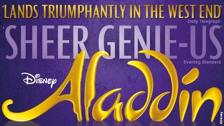 Aladdin Tickets at Prince Edward Theatre,