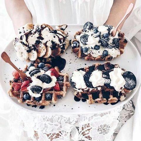 Overloaded waffles