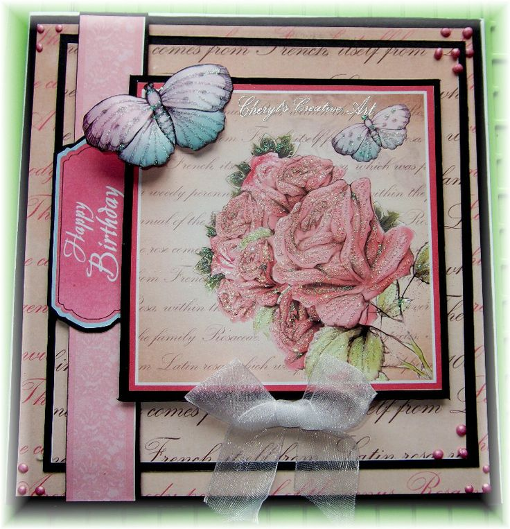 card made using Debbi Moore CD