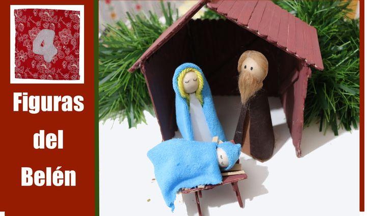 Figuras para el bel n o nacimiento manualidades con fomi - Belen navidad manualidades ...