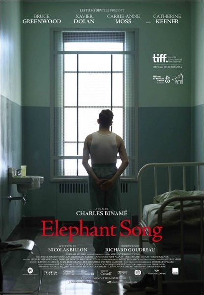 Excellente performance de Xavier Dolan.Elephant Song, premier film anglophone de Charles Binamé, est d'un académisme, mais son trio d'acteur principaux vaut le détour. Binamé est un grand directeur d'acteur. Chacun de ses longs métrages est indissociable...