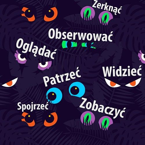 Oglądać, patrzeć, widzieć, zobaczyć - сложности польского языка