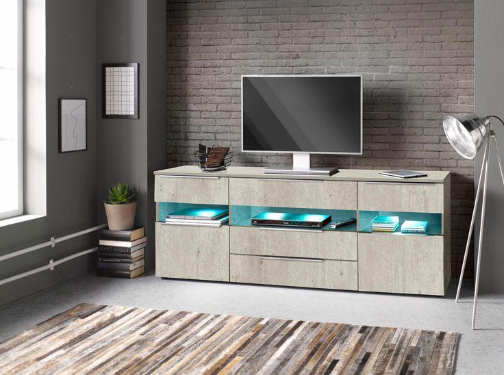 Sideboard Grau Mit Schubksten Yourhome Jetzt Bestellen Unter Moebelladendirektde Wohnzimmer Schraenke Sideboards Uid8c85dbd7 C561 52b6 9fd1