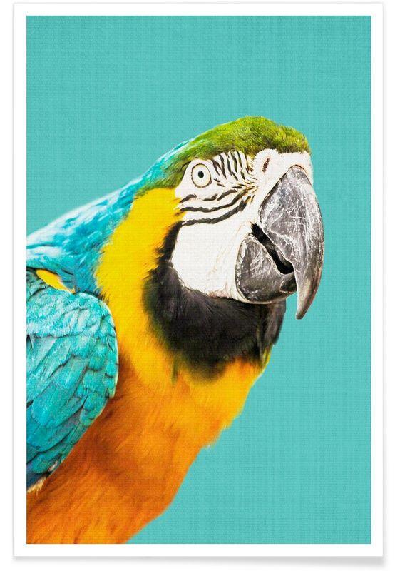 Print 143 als Premium poster door Lila x Lola | JUNIQE