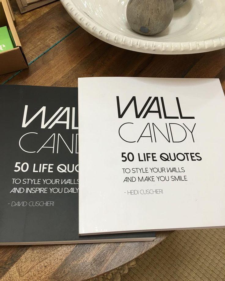Wall Candy , 50 life quotes to make and frame . #decoration #minerscouch #moontashopping #moonta #framing #wallart